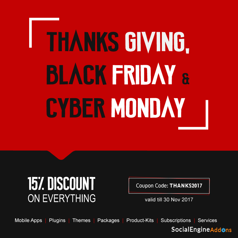 Thanksgiving Deal 15 Discount On Black Friday Cyber Monday Sales Take In Big Savings Socialapps Tech